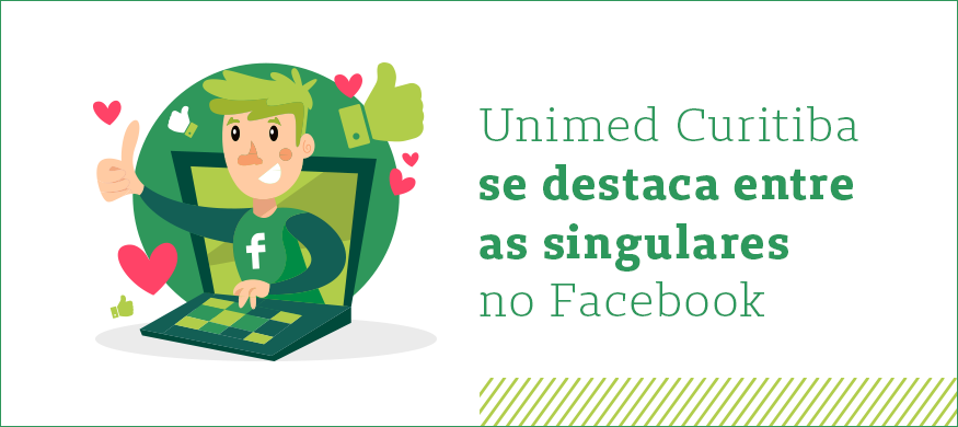 unimed curitiba se destaca entre as singulares no facebook